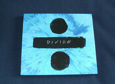 ED SHEERAN - Divide - Deluxe Version (CD Album 2017, 16 Tracks) MINT
