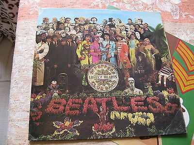 "THE BEATLES Sgt Pepper's Lonely Hearts UK 1st RARE ""WIDE SPINE"" COVER"