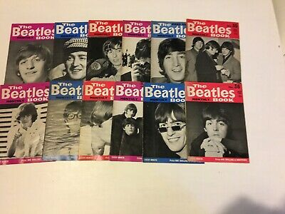 The Beatles Book Monthly - 3Rd Year Run - No's 25-36 - Aug 1965 To July 1966