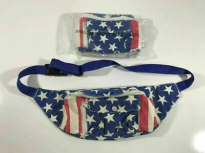 USA Fanny Pack - Avon American Flag Patriotic Fanny Pack