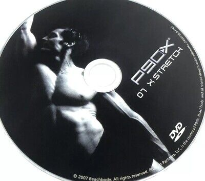 P90X EXTREME FITNESS Replacement DVD Disc X STRETCH 07 CrossFit Tony Horton