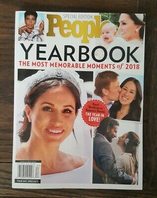 2019 People Special Edition YEARBOOK 2018 Most Memorable Moments Magazine NEW