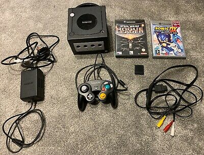 Nintendo Gamecube Console With Original Leads, 1 x Official Controller..........