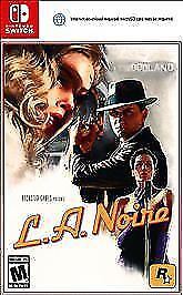 L.A. Noire (Nintendo Switch, 2017) New in Sealed Packaging