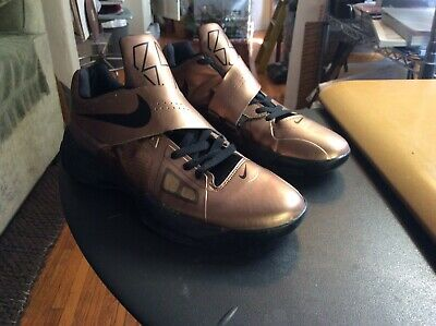get cheap 1eed0 f084b Nike Kd Kevin Durant 4 Iv Christmas Copper Bronze Gold Sz. 12