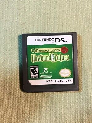 Professor Layton and the Unwound Future (Nintendo DS, 2010) Authentic Tested