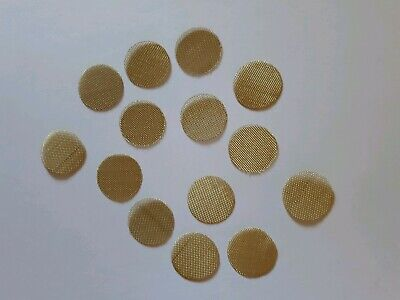 500 pieces brass metal pipe screens 3/4 inch 19 mm heavy duty free shipping