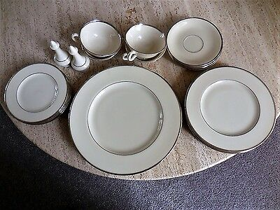 23 pcs Montclair Fine China by Lenox - Made in U.S.A. - NEVER USED