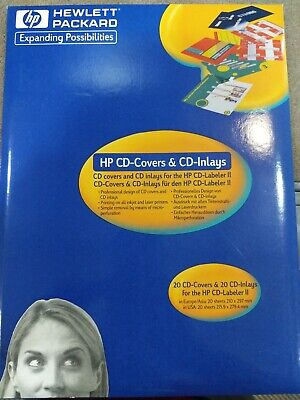 HP CDX8020A CD Covers and Inlays (20-Pack) - NIB - $3 99 | PicClick