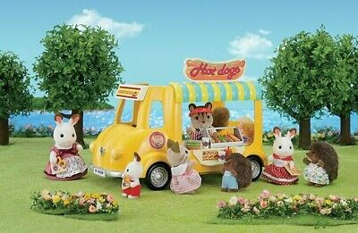 Calico Critters Set of Picnic Food Hot Dog Truck EPOCH