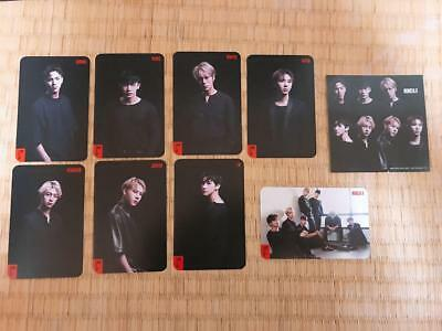 "MONSTA X ""LIVIN' IT UP"" (Japan 4th Single) - Official Photocard - Full Set & 1"