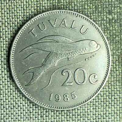 Tuvalu 20 Cents, 1985 - A04012
