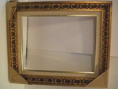 """Antique / Vintage Solid Wood Frame From 1980's Never Used Fits 12"""" x 16"""""""