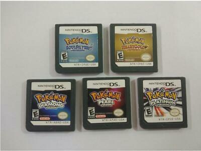 Pokemon SoulSilver HeartGold Version Game 3DS NDSI NDS Play Now
