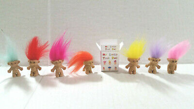 Barbie 1:6 Toyroom Playroom Miniature Toy Troll Doll and Box for Kelly