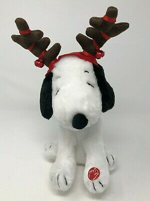 183d97d7a6131 SNOOPY CHRISTMAS PLUSH Peanuts Animated Music Motion Charlie Brown ...
