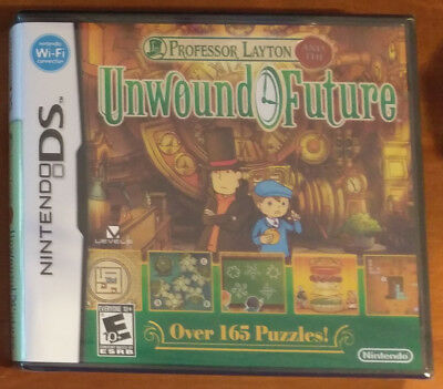 Professor Layton and the Unwound Future (Nintendo DS) Game BRAND NEW SEALED