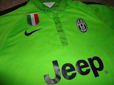02db681d030 Authentic Nike Serie A 2014 Rare Juventus FC Soccer Football Jersey Shirt L  23