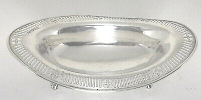 Antique English sterling silver tray or bowl ,1900,Sheffield