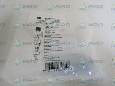 Woodhead Sensor Connector Receptacle 1200710036 *New In Factory Bag*
