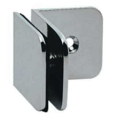 Wall to Glass 900D Stainless Shower Hinge / Glass Clamp - 8-12mm Glass - 304G
