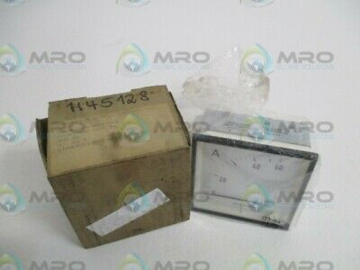 Aeg-Elotherm 20066101/001 Panel Meter 0-60A * New In Box *