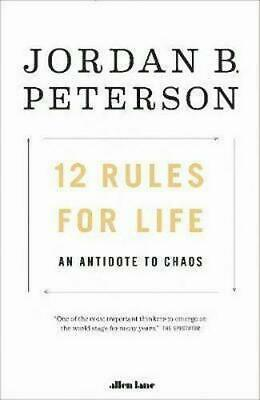 12 Rules for Life By Jordan B. Peterson (PDF) Delivery in 24hrs