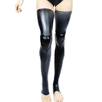 Wink Wetlook Grip Dance Leg Warmers with Padded Knees