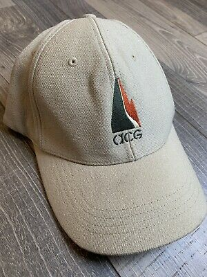 045849ed719 Vintage Nike ACG All Conditions Gear Fitted Hat Embroidered Logo Cap One Sz  VTG