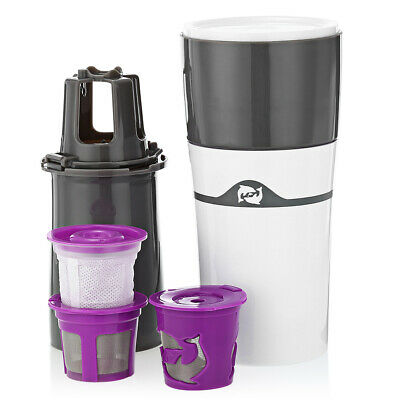 Home Office Travel Portable Drip Coffee Maker Travel Mug Water Bottle Brewer
