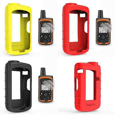 Screen Protector+ Soft Silicone Case For DeLorme inReach SE Satellite Tracker A3