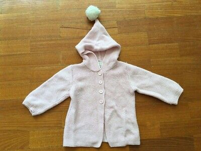 Wilson and Frenchy Soft Pink Knitted Hoodie