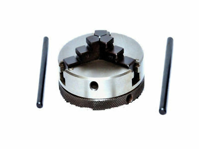MINI Lathe 3 jaw Self-Centering Chuck 65mm and MT1 Mounting Shank Arbour PREMIUM
