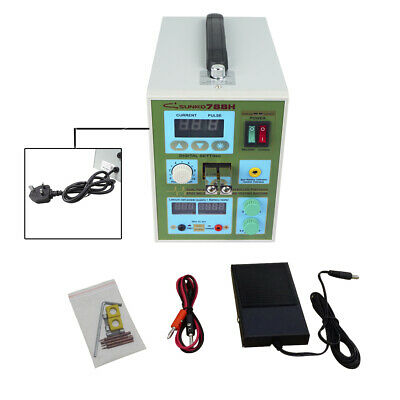 788H LED Dual Pulse Spot Welder 18650 Battery Charger 800 A 0.1 - 0.2 mm 36 V