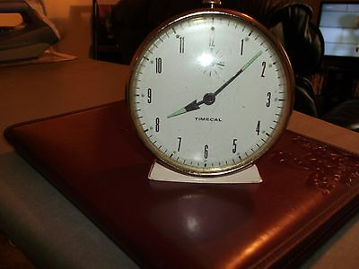 Smiths Timecal 1950/60s Retro wind up alarm clock