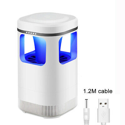 Safe Photocatalytic Mosquito Killer Lamp LED Light Insect Pest Trap USB Electric