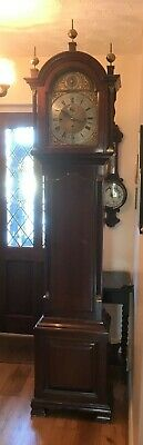 Mahogany Longcase Grandfather Clock