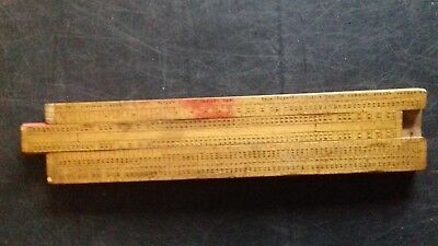 Rare Antique 1890s Smiths Safe Distance Calculator Navigation Sliderule Lilley