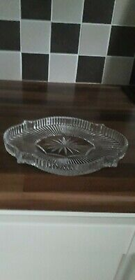 waterford Crystal sweet /nibbles tray