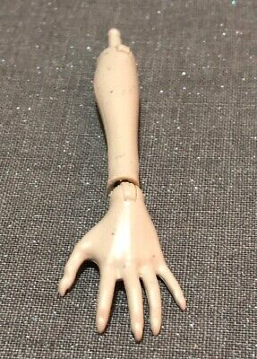 Monster High Doll Parts - Grey Left Arm & Hand Rochelle Goyle