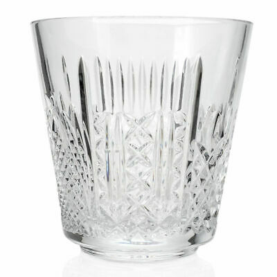 """Waterford Crystal """"6 Patterns of the Sea"""" 7.25"""" Cut Ice Bucket (New Damaged Box)"""