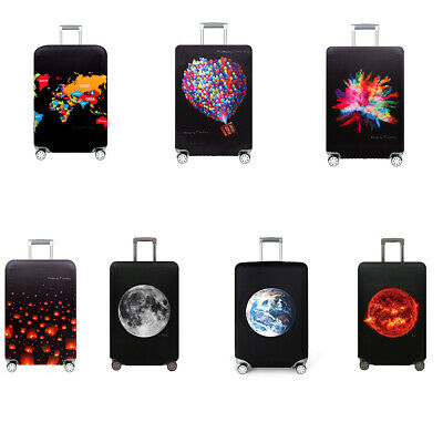 Elastic Protective Travel Luggage Suitcase Dustproof Cover Protector Case