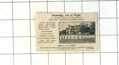 1936 Bembridge Isle Of Wight Charming Modern House With 4  Acres For Sale