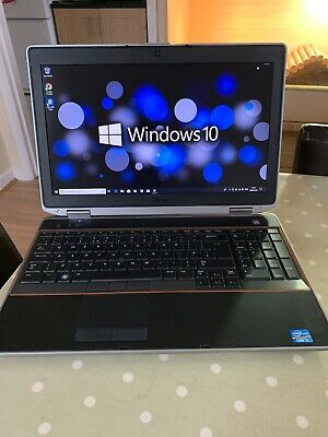 Dell Latitude E6520 Laptop,i5@2.5ghz,4gb Ram,250gb Hdd,win 10