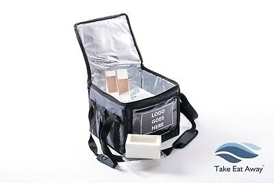 Logo your Delivery Bags - Take Away Delivery Bag - hot/cold food insulated  C161