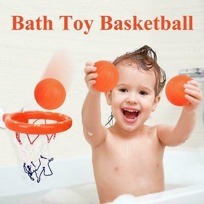 1 Set Bath Toy Basketball Hoop Suction Cup Mini Gift for Baby Toddlers Bath