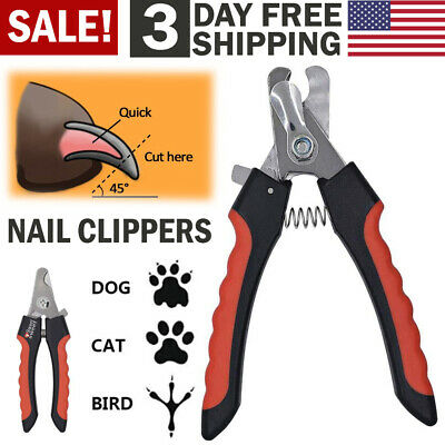 Pet Dog Nail Clippers Nails Trimmer Cutter Pet Nail Cutting Scissors Claw Care