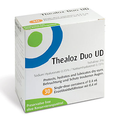 Thealoz Duo Unidose UD 0.4ml vials Single-dose containers preservative-free Thea
