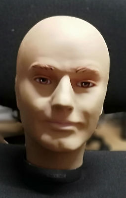 Rubber Male Mannequin head