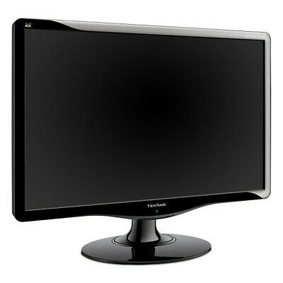 "ViewSonic VA2232w 22"" 1680 x 1050 LED Monitor with vga and mains cable"